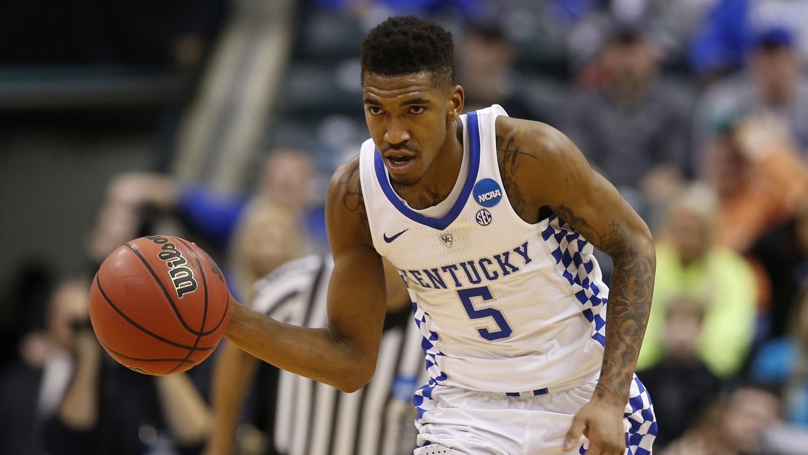 Malik Monk And De Aaron Fox Usa Today All Americans: Malik Monk Declares For 2017 NBA Draft And Will Sign With