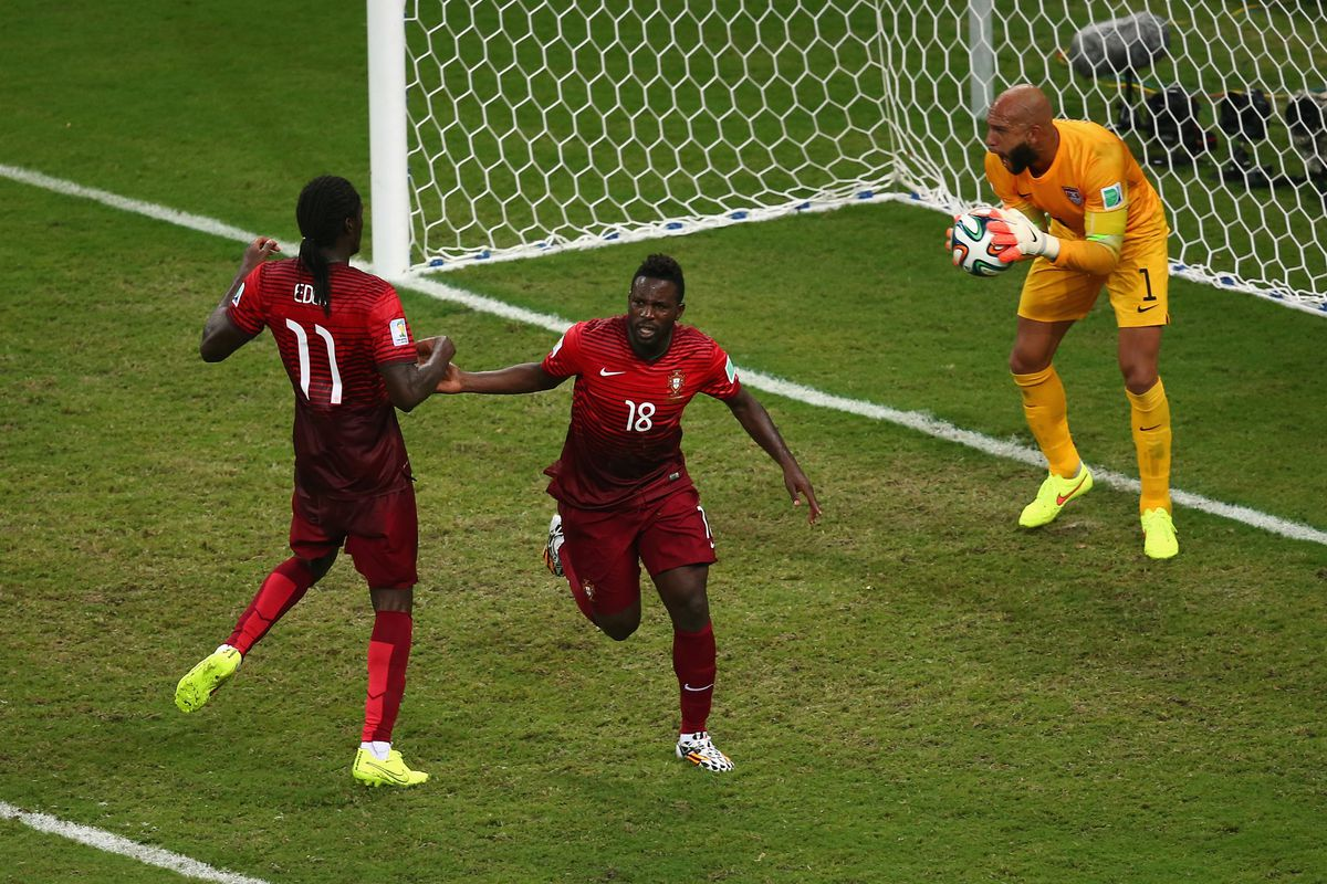 Portugal equalizes in the dying seconds against the USA