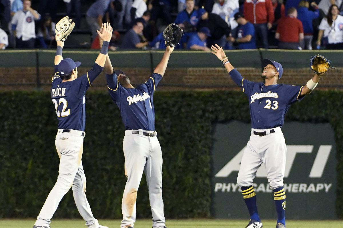 innovative design eb3ff 4570b The Brewers' Hot Pursuit of the Cubs in the NL Central - The ...