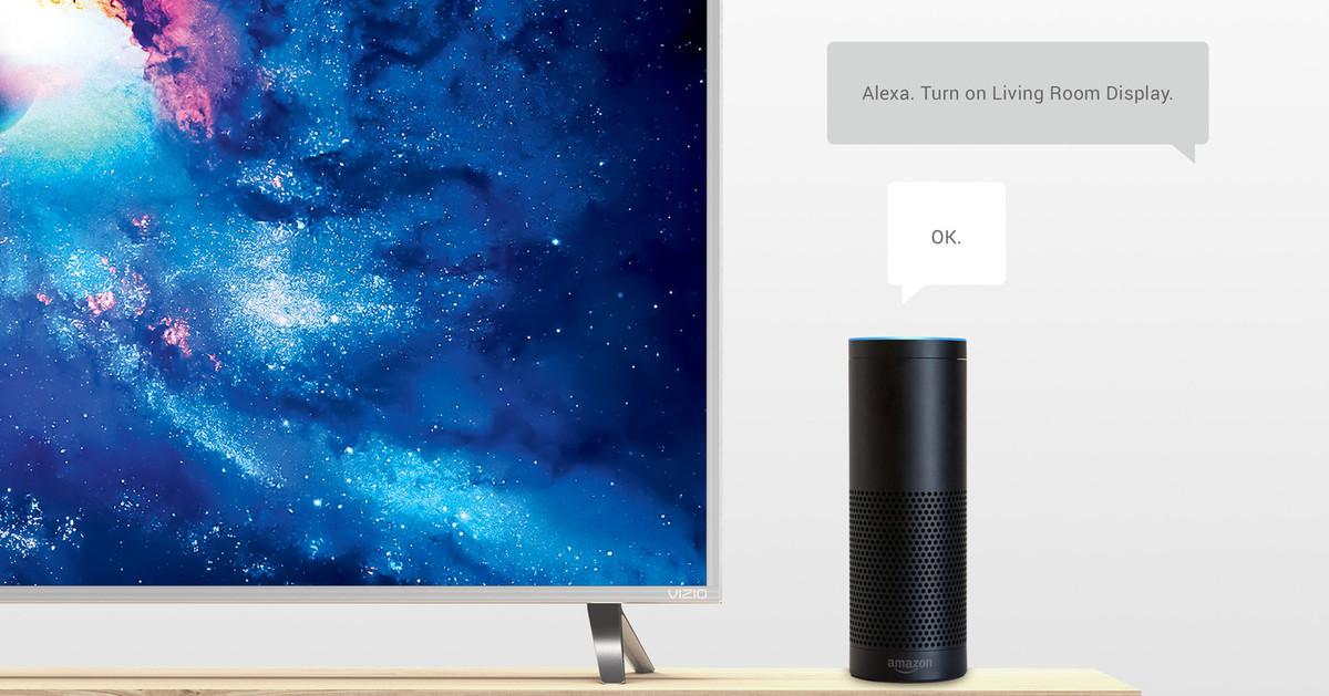 photo image Vizio adds support for Amazon Alexa voice controls on its SmartCast TVs