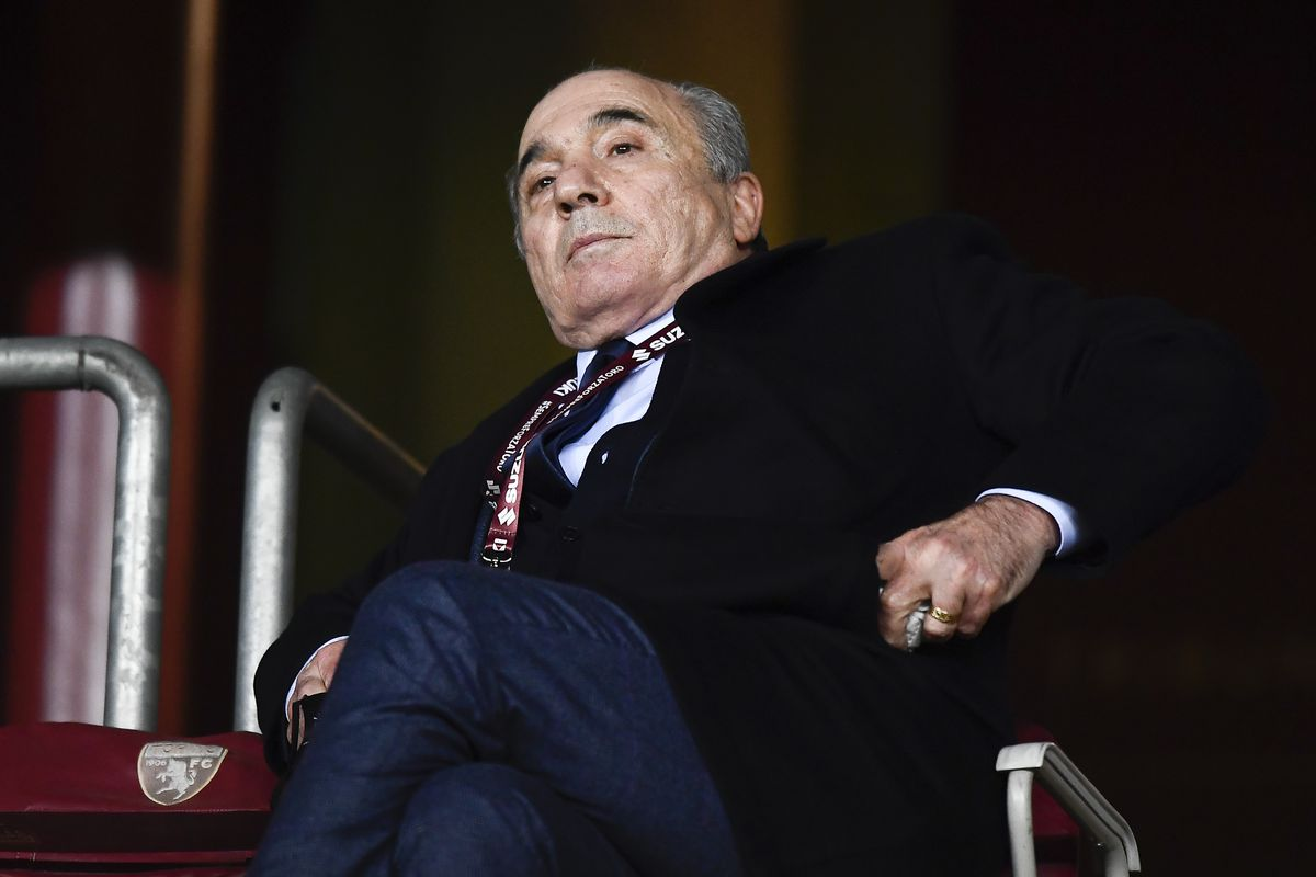 Rocco Commisso, president of ACF Fiorentina, attends the...