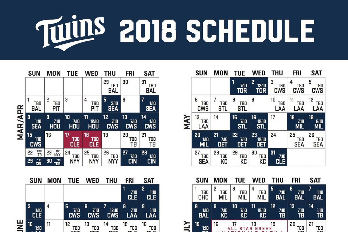 Crazy image inside minnesota twins printable schedule