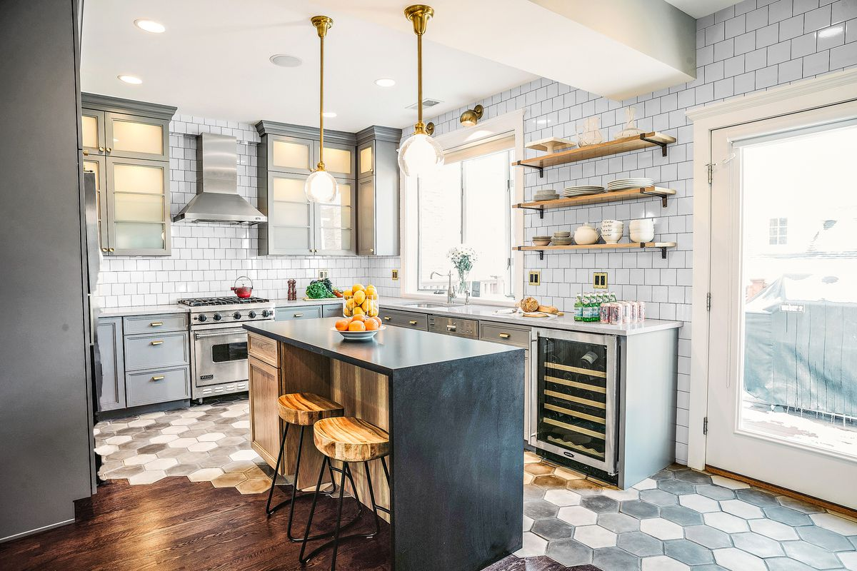 Blending Wood And Tile In An Open Plan This Old House
