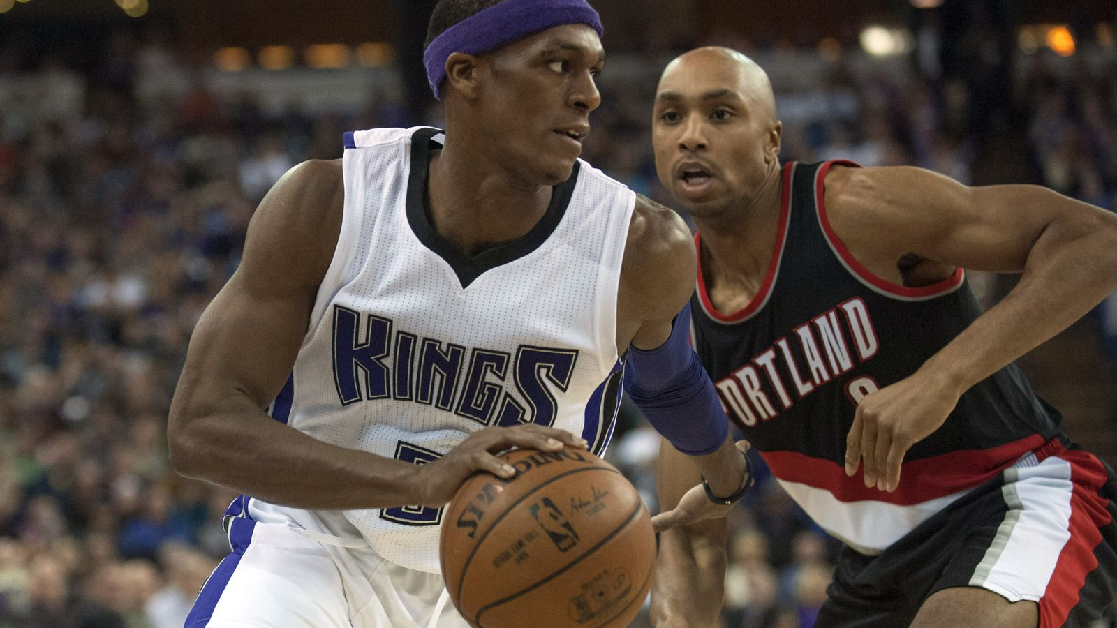 Rajon Rondo With The Beautiful Behind-the-back Assist