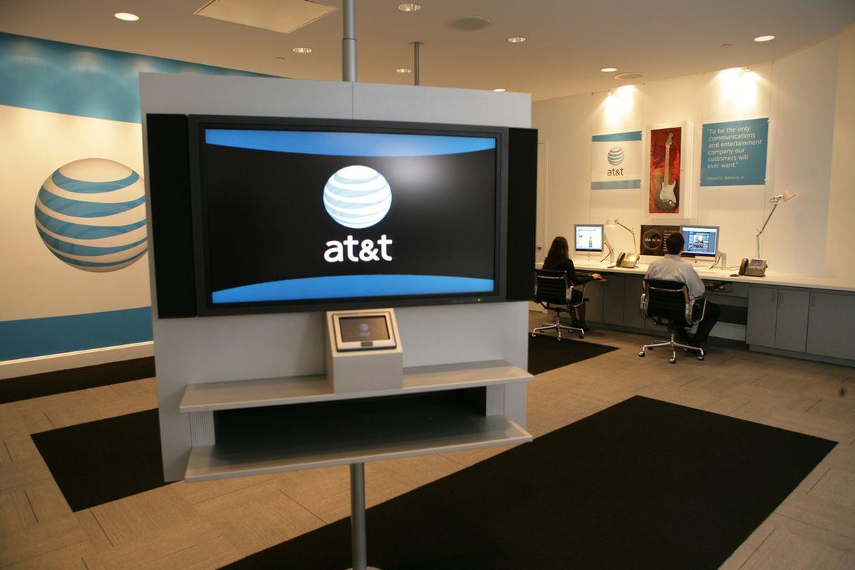AT&T screen