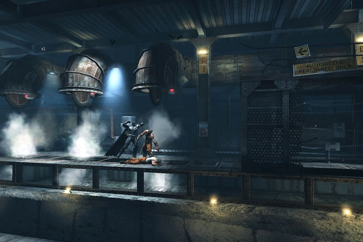 Batman: Arkham Origins Blackgate allows players to choose ...