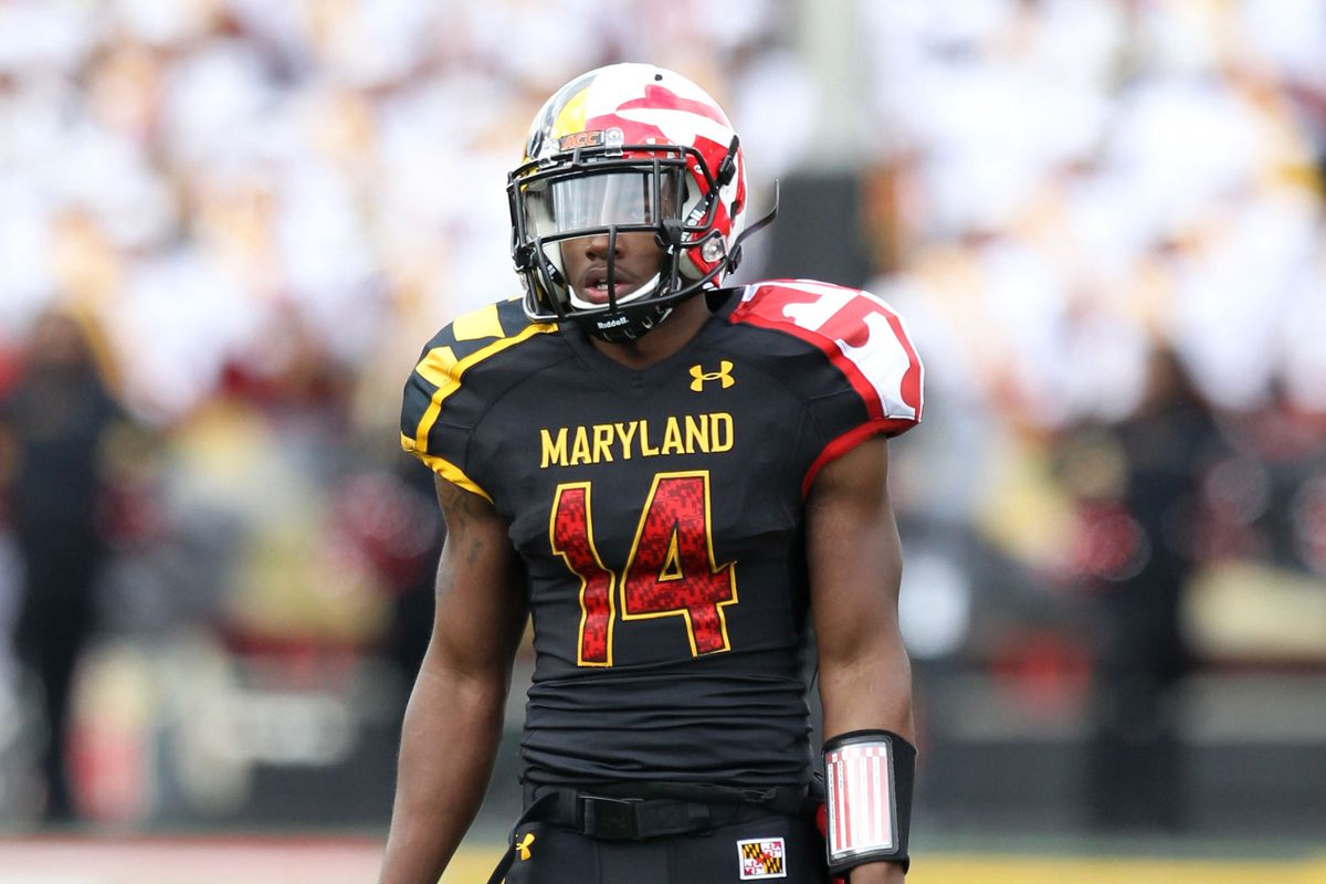 Cornerback Jeremiah Johnson is one of eight seniors in Maryland's current starting defensive lineup.