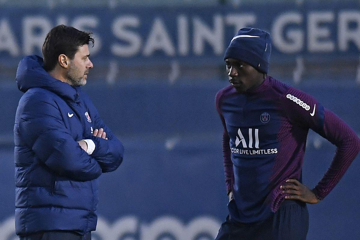 Paris Saint-Germain Training Session