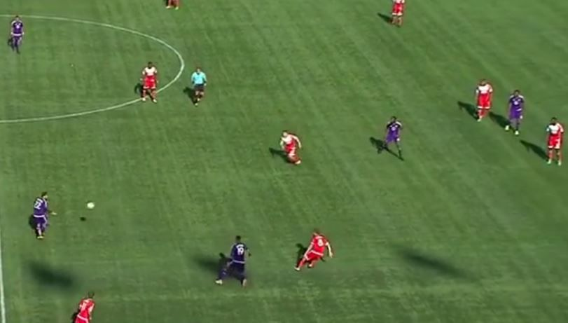 Nocerino's 1-2 with Baptista takes Nguyen completely out of frame and opens space for Baptista and Molino.