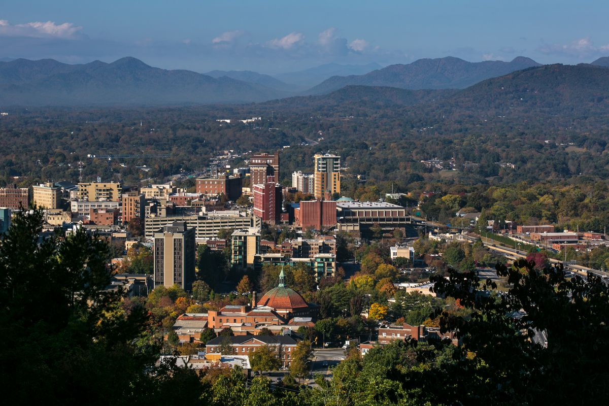 Exploring Asheville's Blue Ridge Mountains