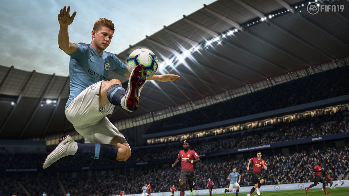 fifa 19 is just fine and that s all it needs to be polygon