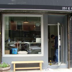 The new storefront.