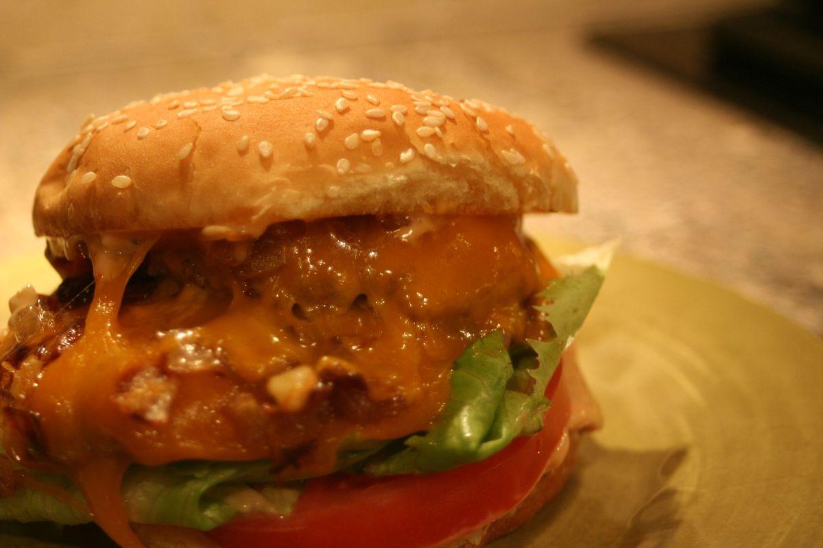 dd burger close up