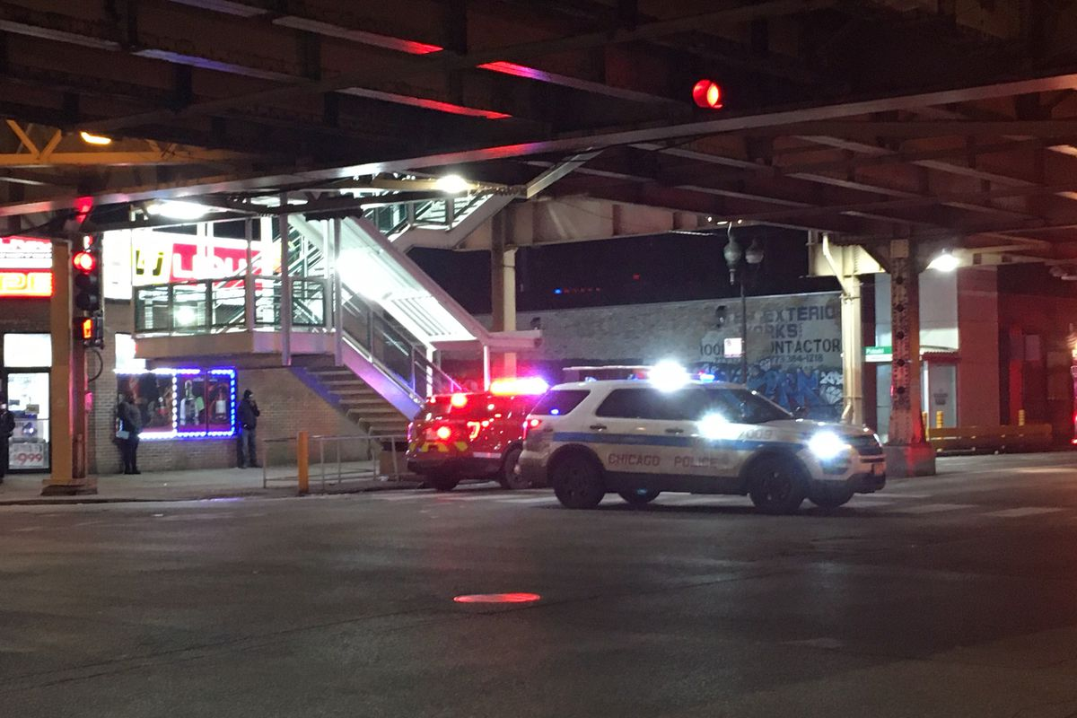A man was hit by a CTA Green Line train and critically injured Feb. 1, 2020, at the Pulaski station, 4000 W. Lake St.