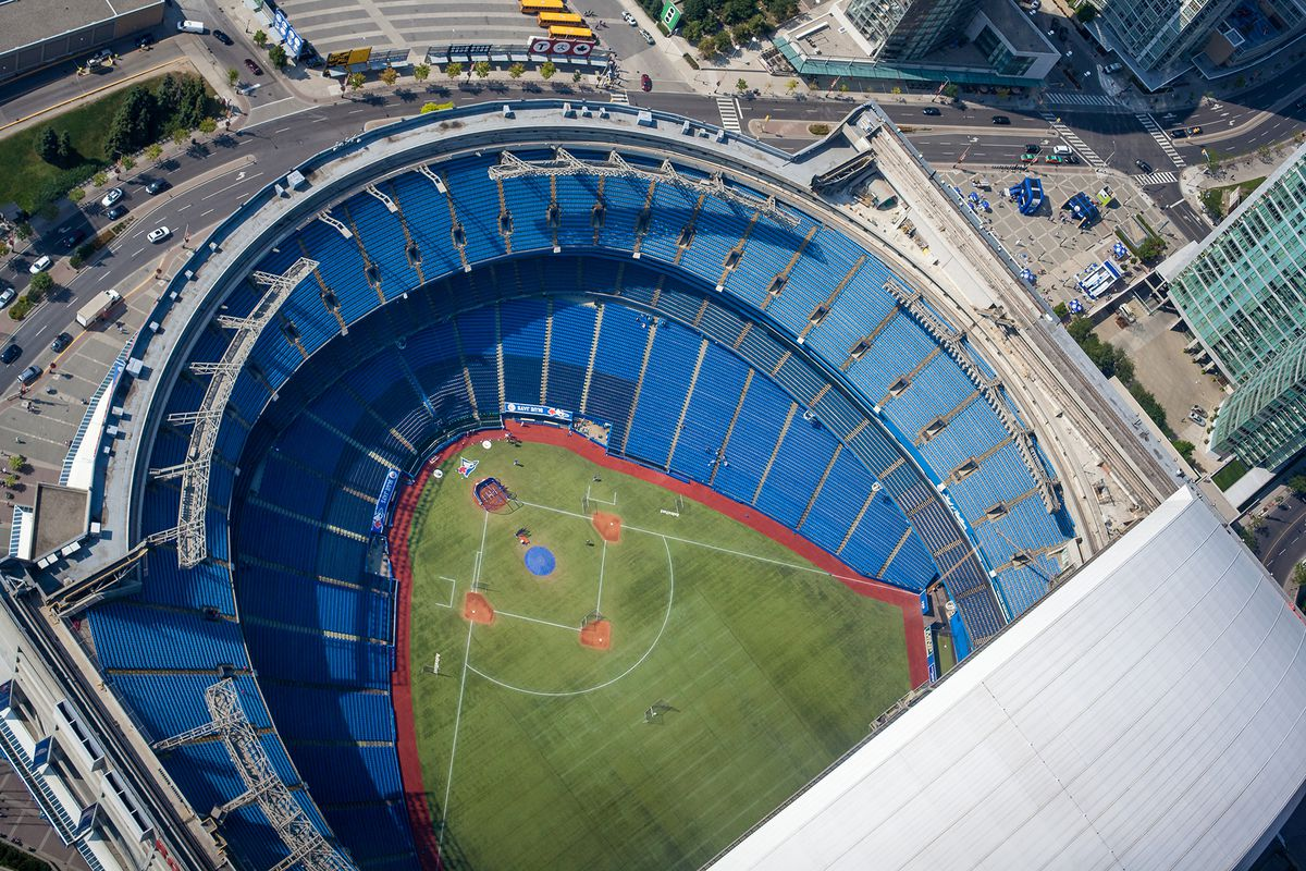 The Rogers Centre while empty