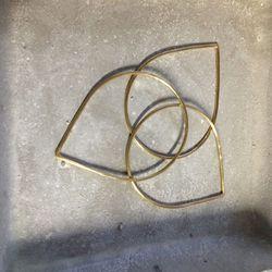 These teardrop-shaped Fay Andrada bracelets were $30.