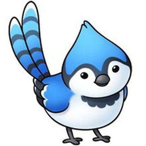 Bird-In-Blue