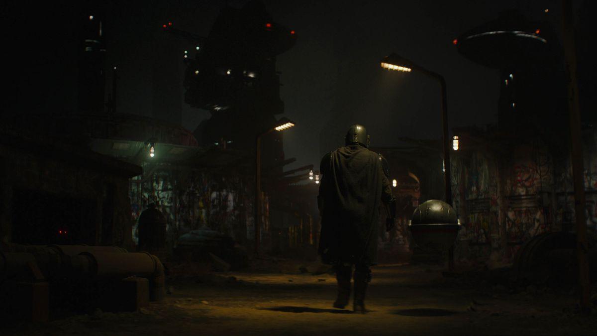 The Mandalorian in season two.