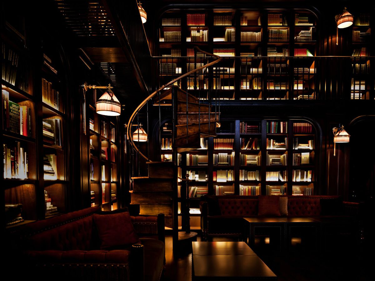 The NoMad Hotel Library