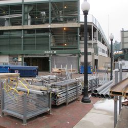 Thu 1/7: view at Gate D area -