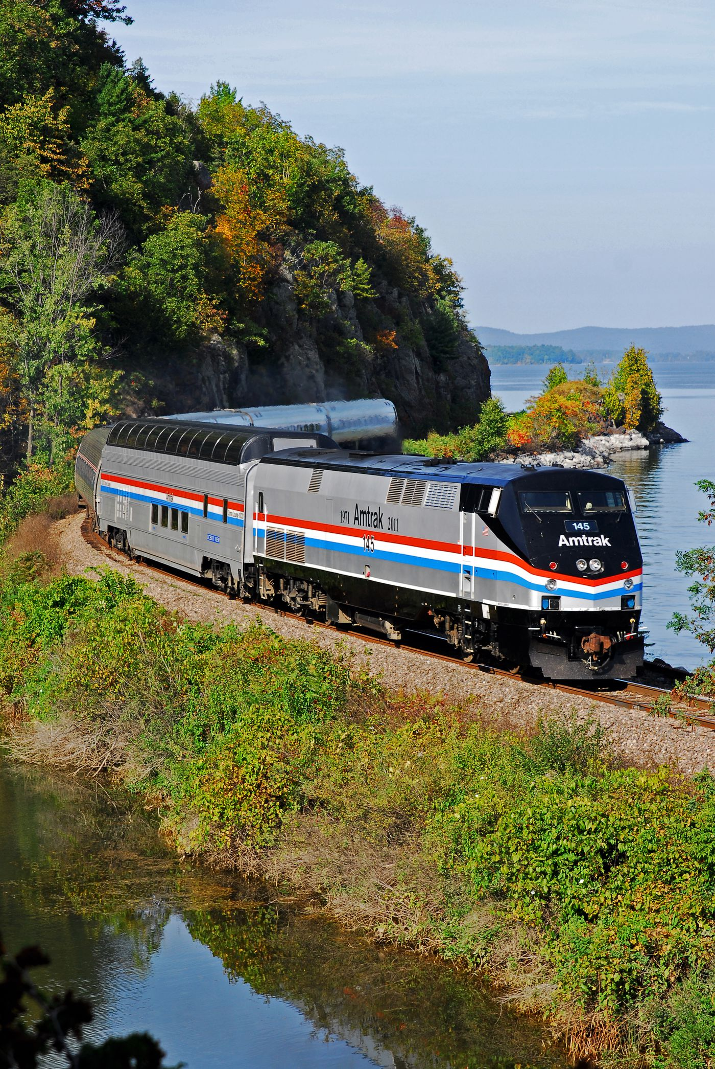 The most scenic train routes in the U S  - Curbed