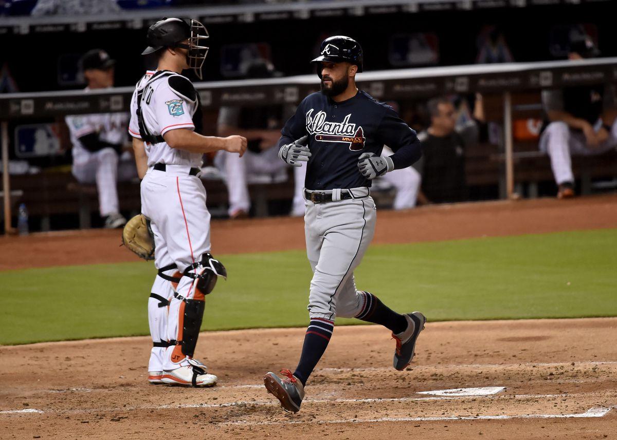 ede4d1db7 MLB  Atlanta Braves at Miami Marlins