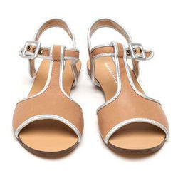 """Marais <b>T-strap sandal</b> in sand, $135 at <a href=""""http://needsupply.com/womens/shoes/t-strap-sandal.html#"""">Need Supply Co.</a>"""