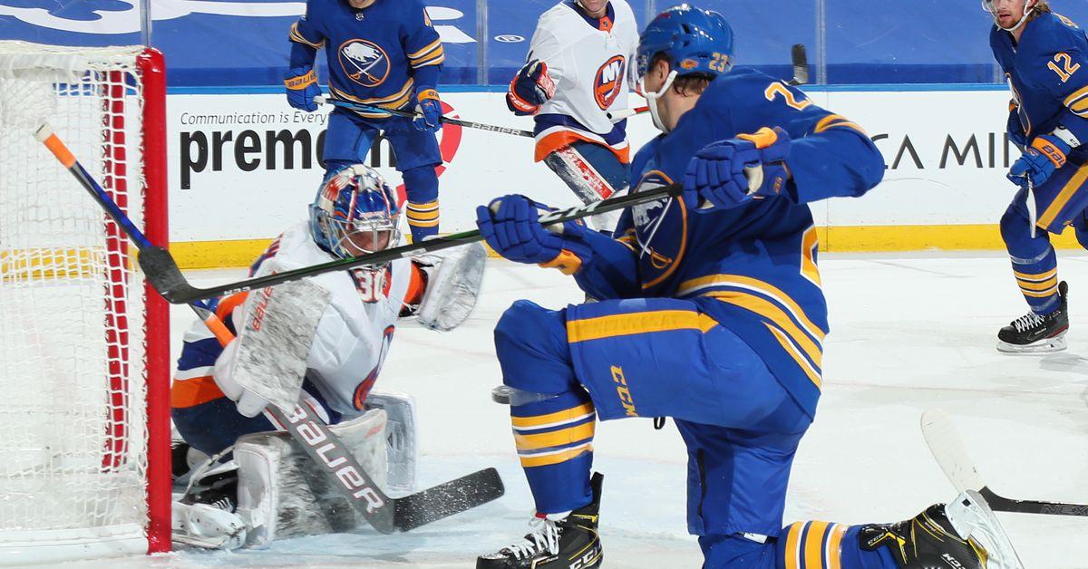 Islanders 3, Sabres 0 (EN): Sorokin shuts out Sabres for first NHL win - Lighthouse Hockey