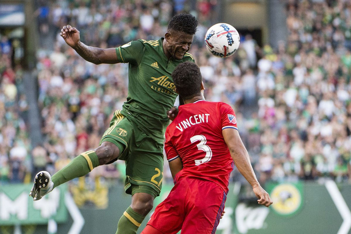 MLS: Chicago Fire at Portland Timbers