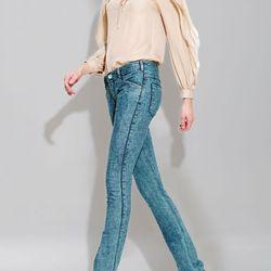 "<b>Theyskens' Theory</b> acid-wash skinny jeans, <a href=""http://www.bergdorfgoodman.com/p/Theyskens-Theory-Acid-Wash-Skinny-Jeans-Pants/prod75890031_cat205700__/?eItemId=prod75890031&searchType=SALE&icid=&rte=%252Fcommon%252Fstore%252Fcatalog%252Ftemplat"
