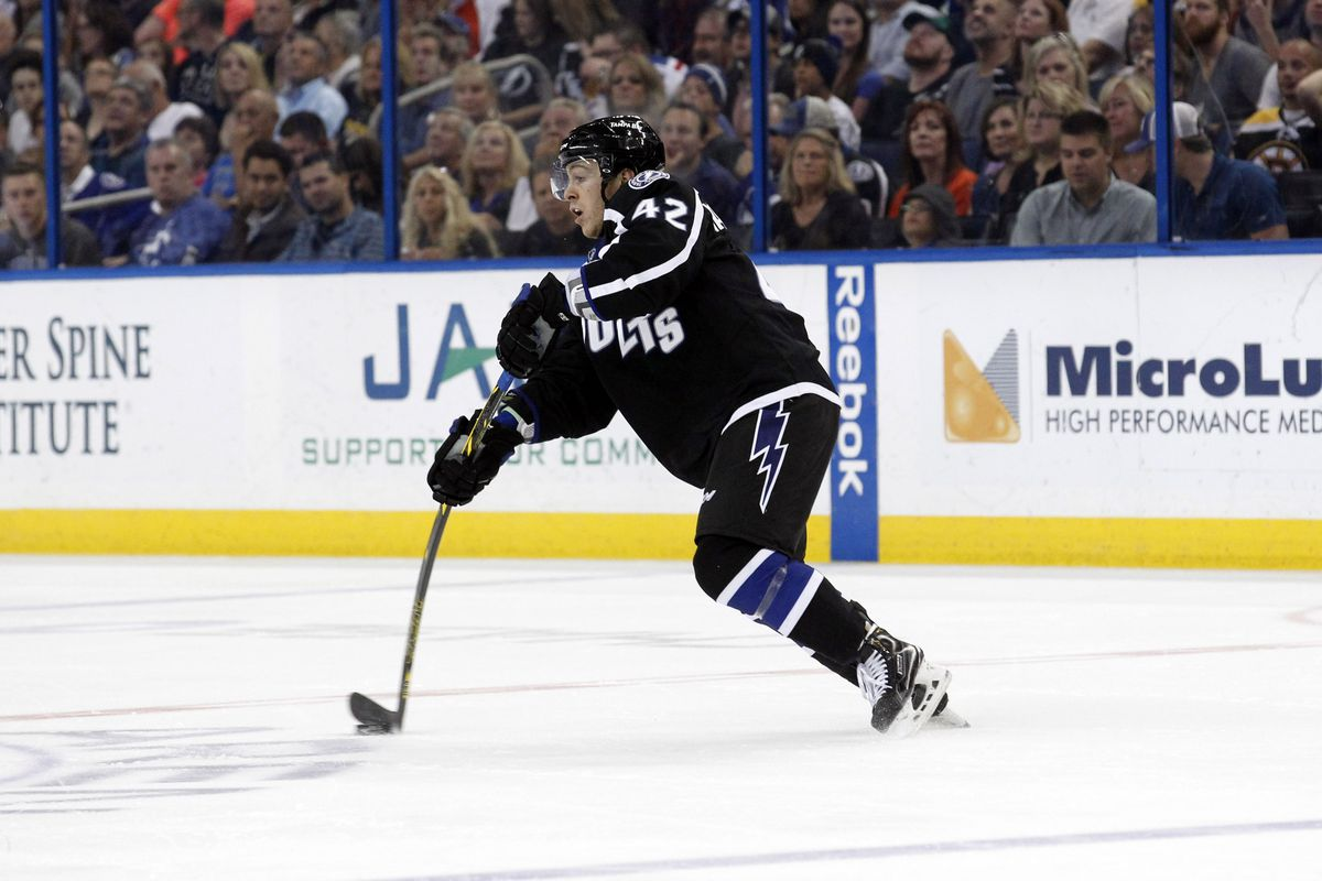 Jonathan Marchessault may find his way into the Lightning lineup tonight for game 6.