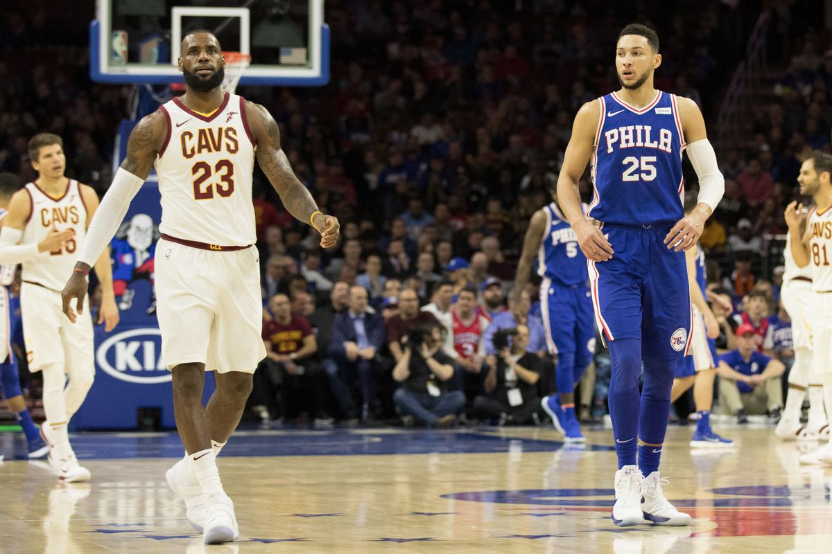 08219f0aecdd Joel Embiid and Ben Simmons really want LeBron James in Philadelphia ...