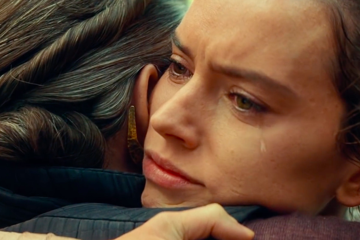 star wars episode 9 the rise of skywalker - rey and leia