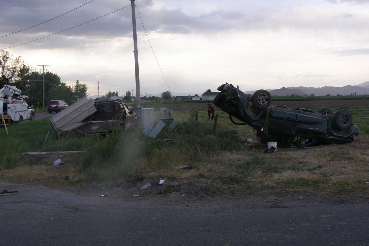 A 52-year-old woman was killed in a car accident after another vehicle ran a stop sign in Lewiston, police reported on Thursday, June 2, 2017.