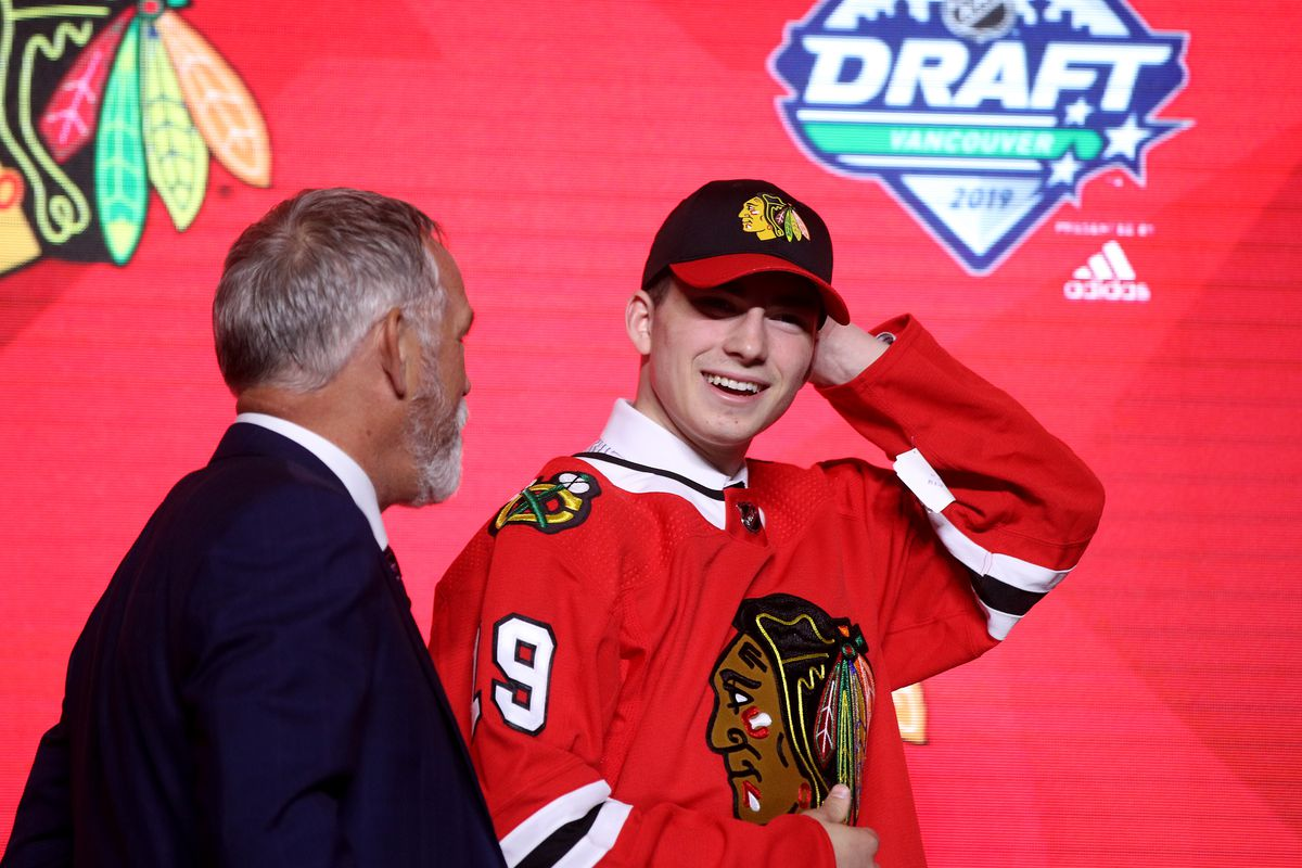 Blackhawks prospect Kirby Dach: Where will No. 3 pick play in 2019-20?