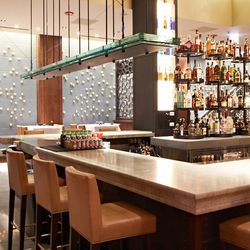 one of the large bar areas