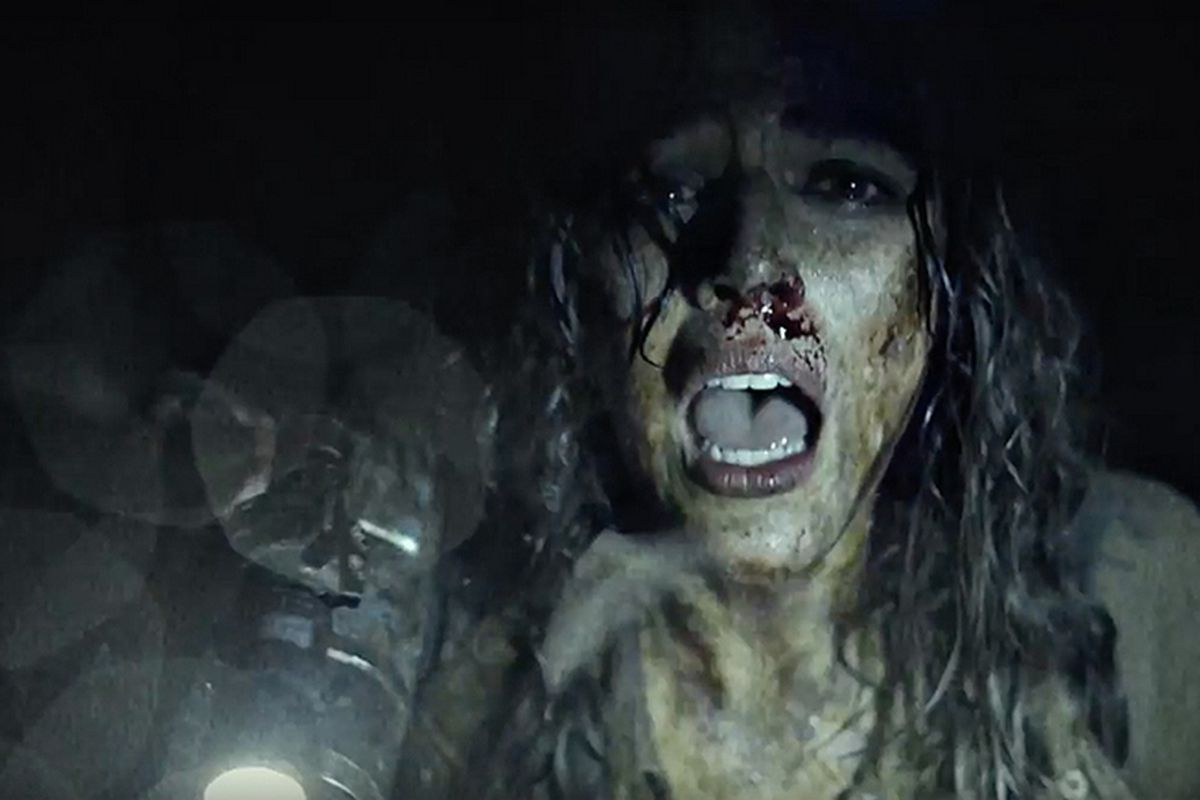 Callie Hernandez as Lisa in Blair Witch