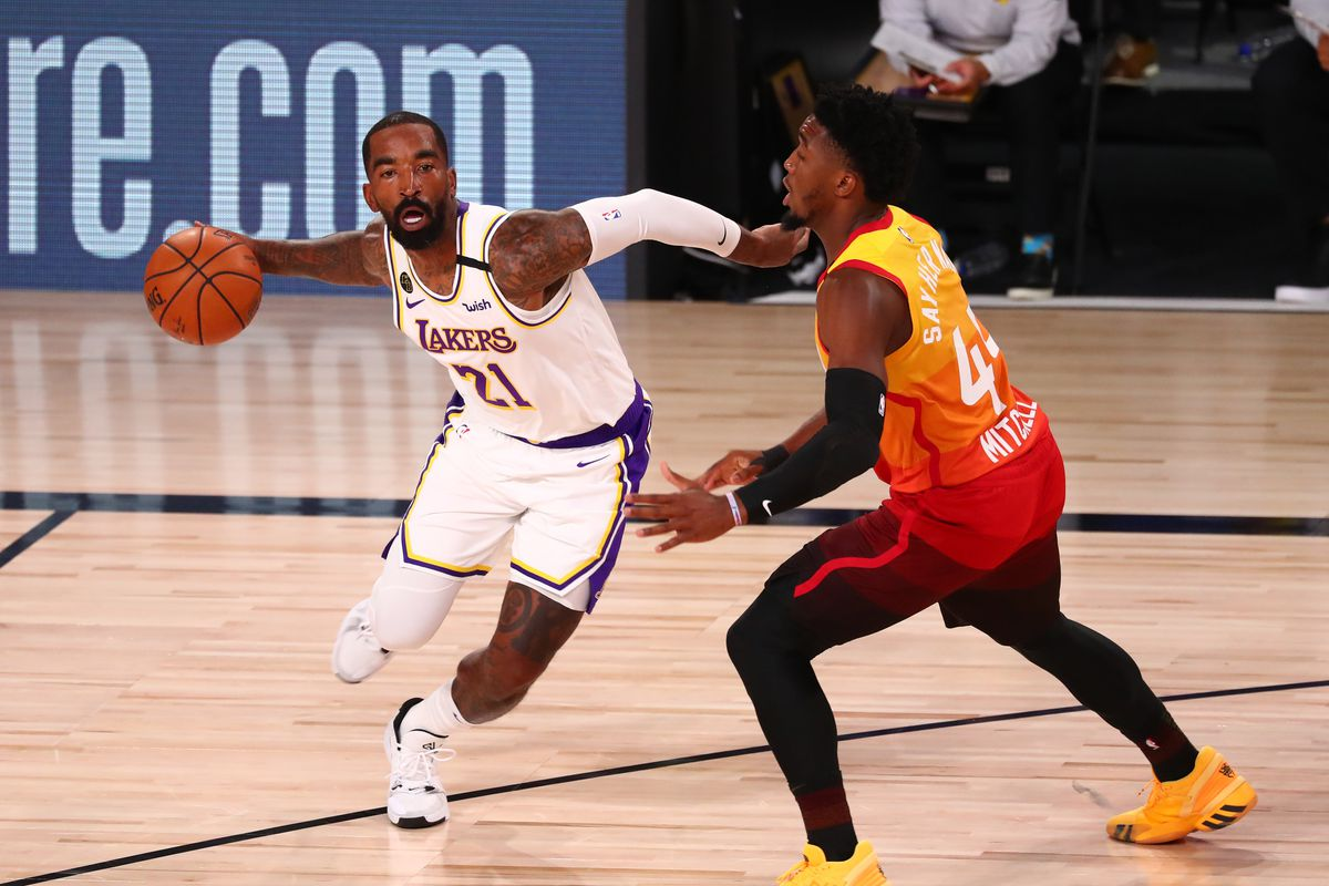 J R Smith Is Content With Lakers Whether He Plays Or Not Silver Screen And Roll