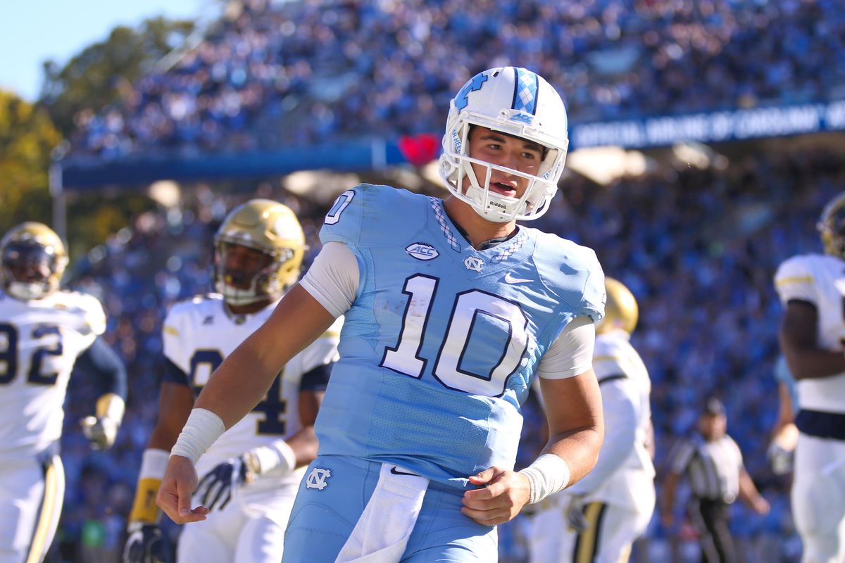 the best attitude f1412 08c18 Saying goodbye to Mitch Trubisky - Tar Heel Blog