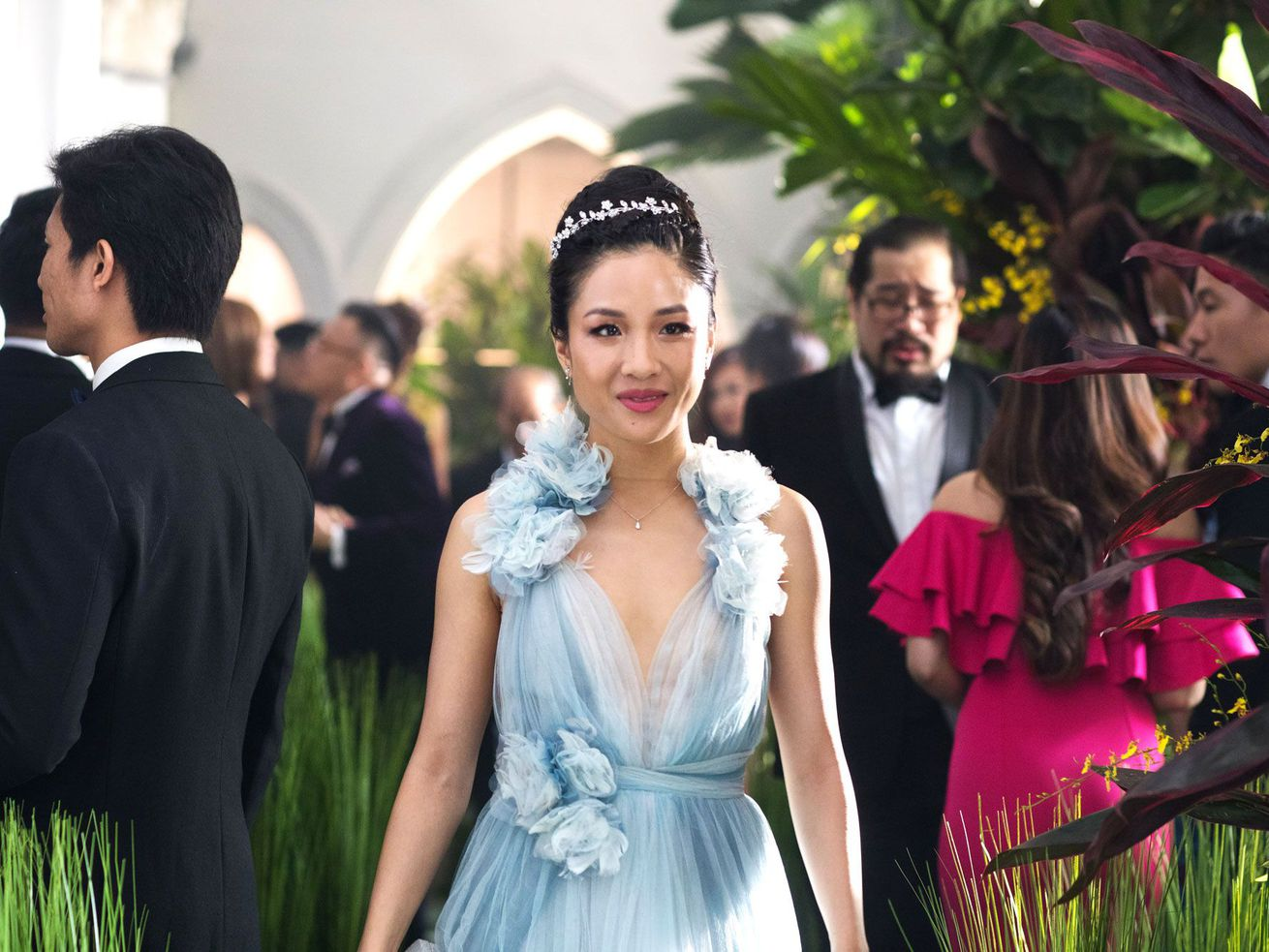 Constance Wu stars in the big box office hit Crazy Rich Asians.
