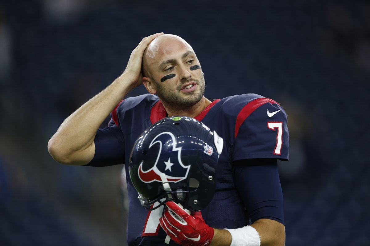 Brian Hoyer Reacts To Getting Cut By Houston Texans, Plus Impact ...