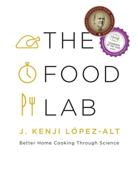 """The cover of """"The Food Lab."""""""