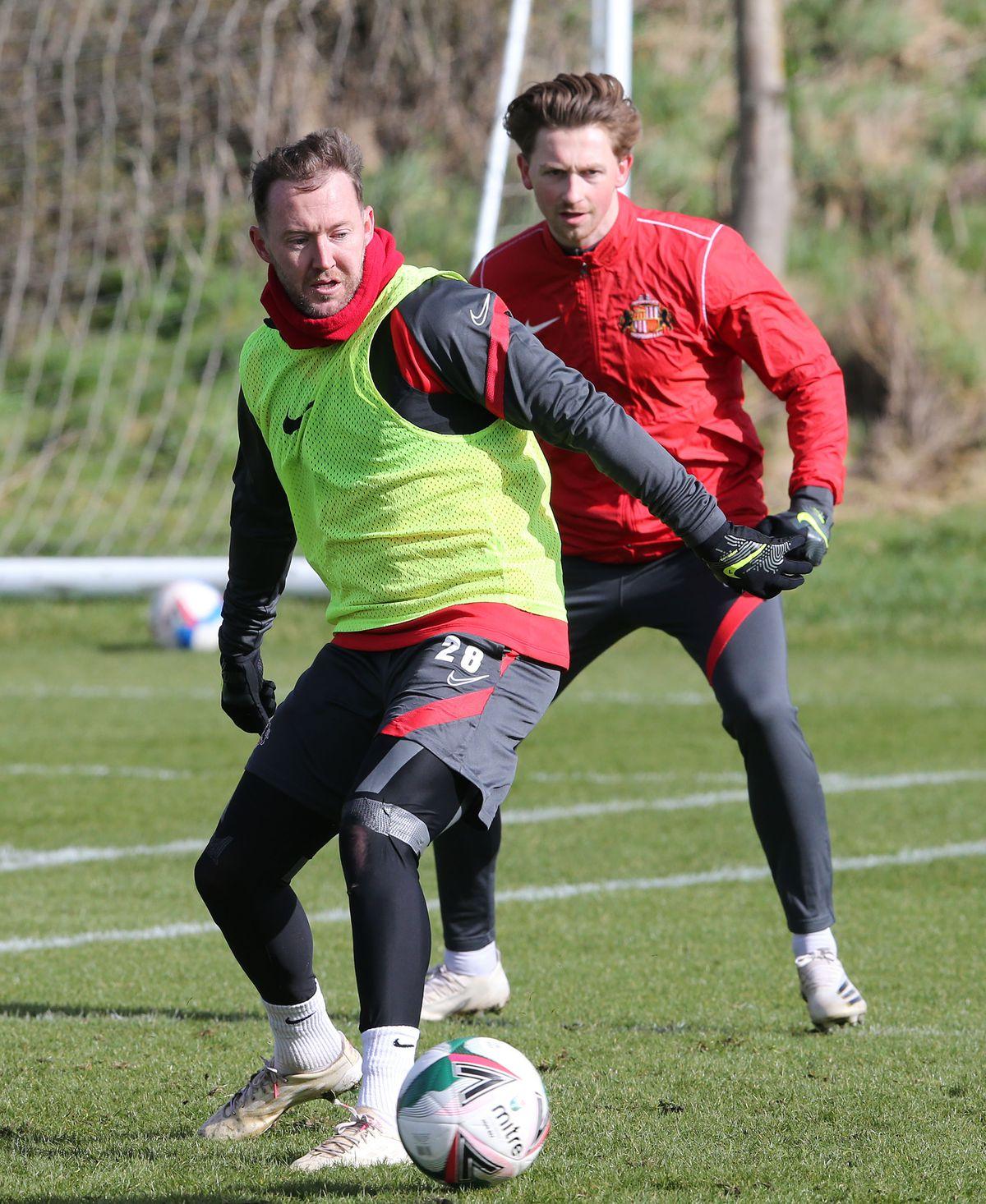 Sunderland Training : Papa John's Trophy Preview