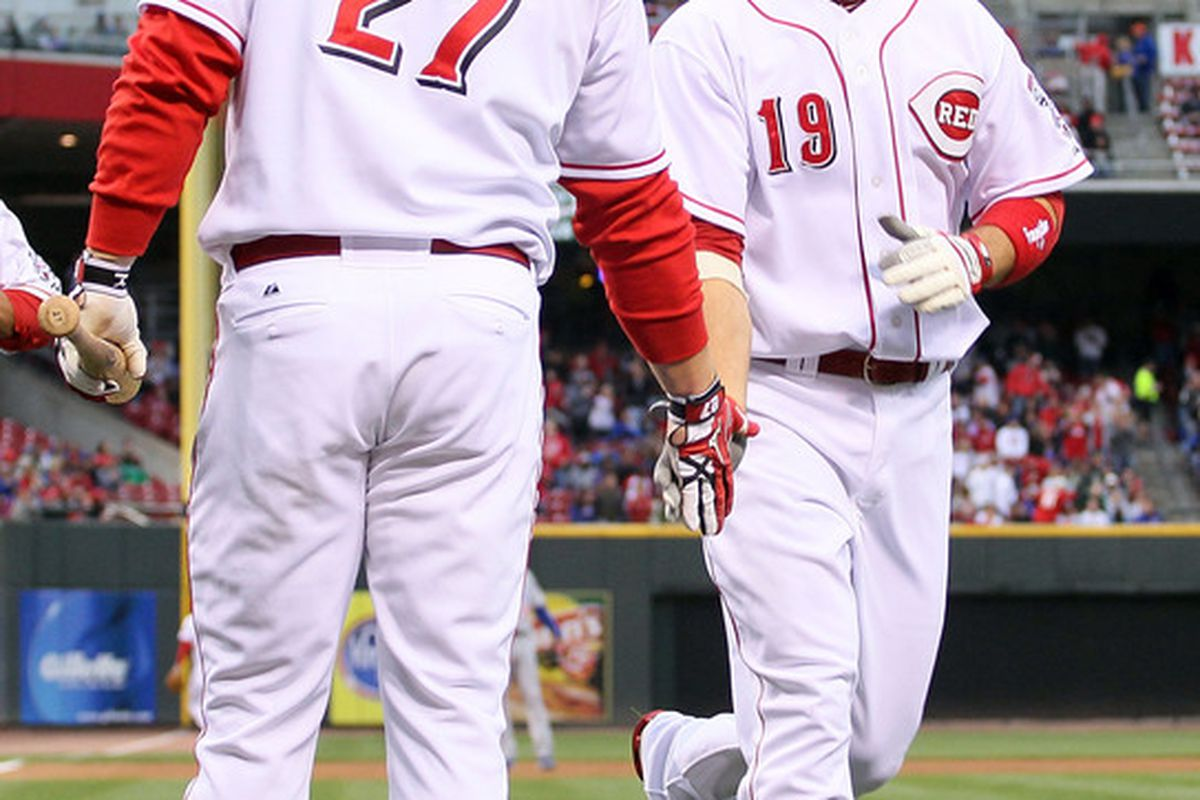 """<a href=""""http://www.youtube.com/watch?v=CfLra2l4V9w"""" target=""""new"""">That's me, JV, the MVP!  And my man, Scott Rolen.</a>"""