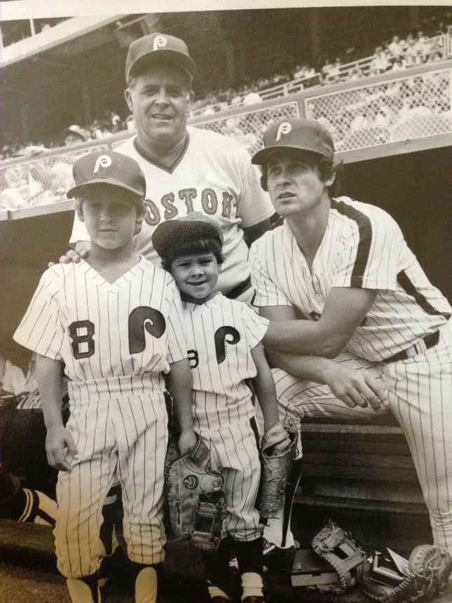 Ray, Bob, Aaron, and Bret Boone