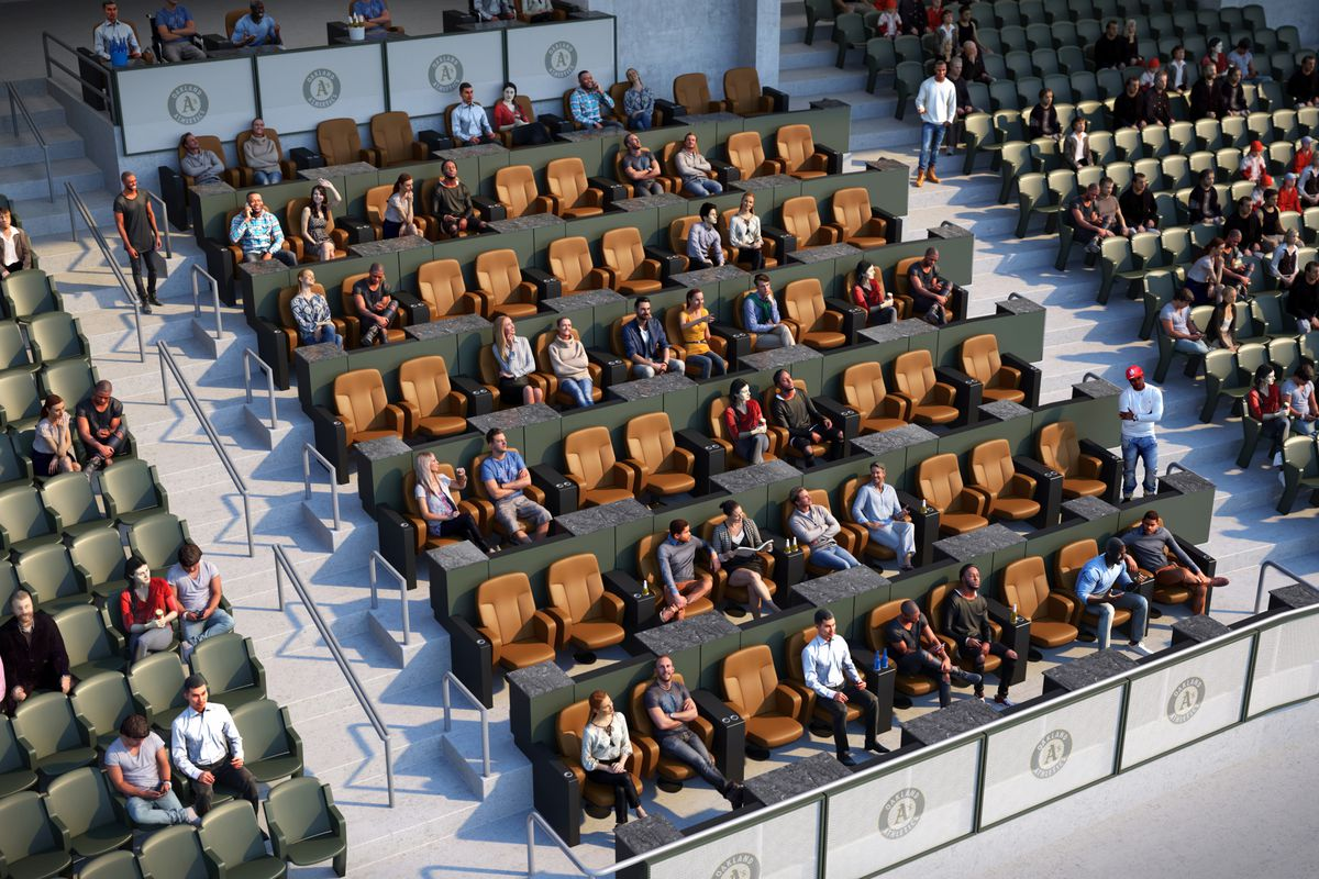Oakland As Announce More New Seating Options At Coliseum