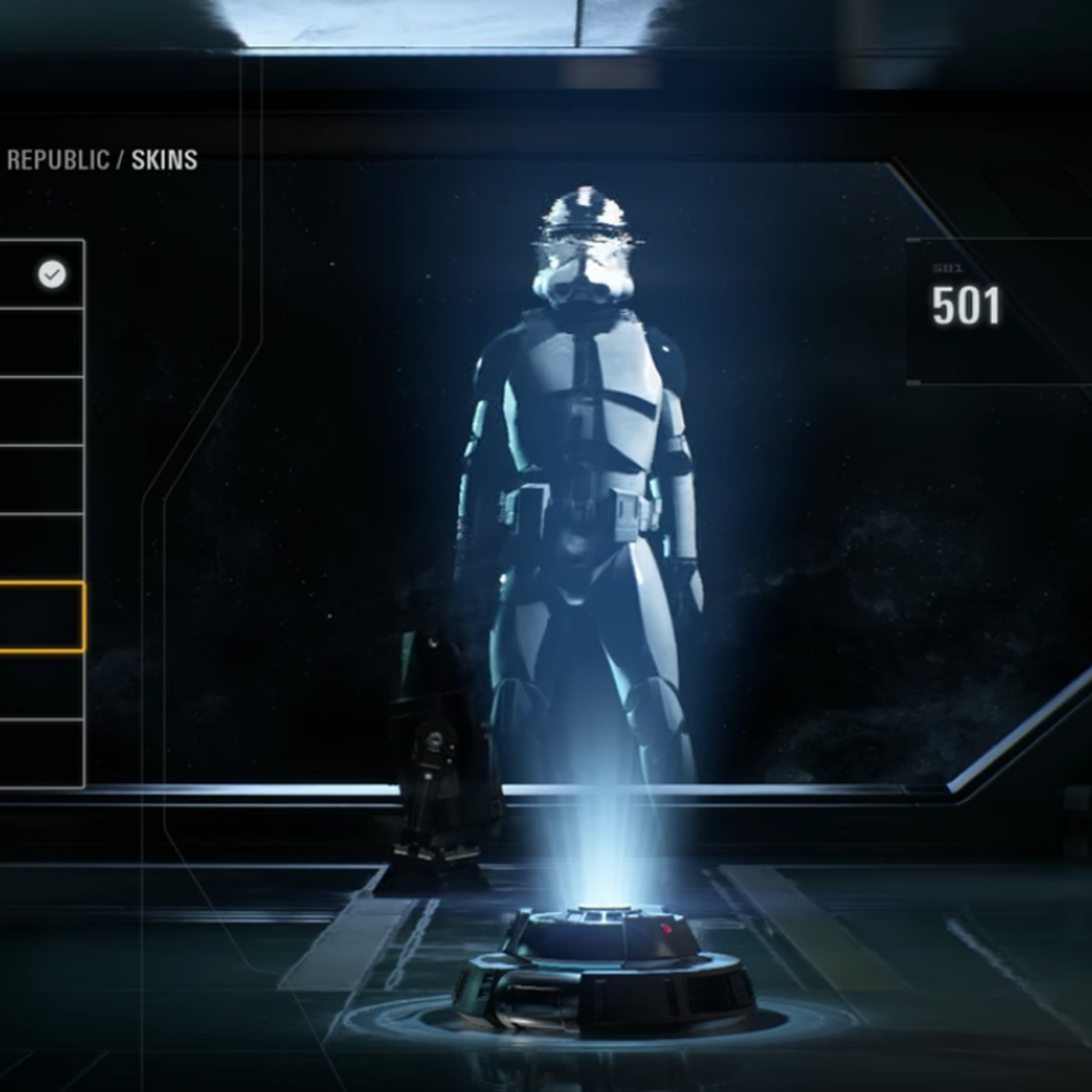 Star Wars Battlefront 2 Leak Shows Character Customization Options