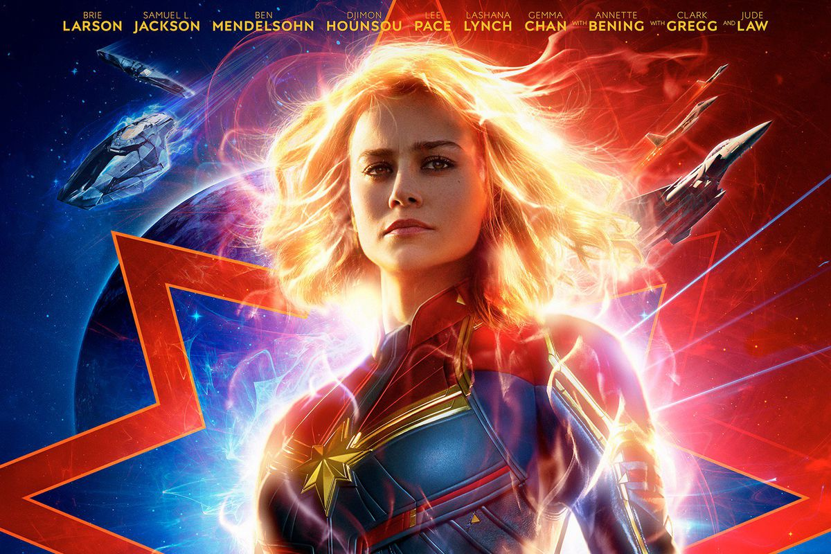 Image result for captain marvel posters
