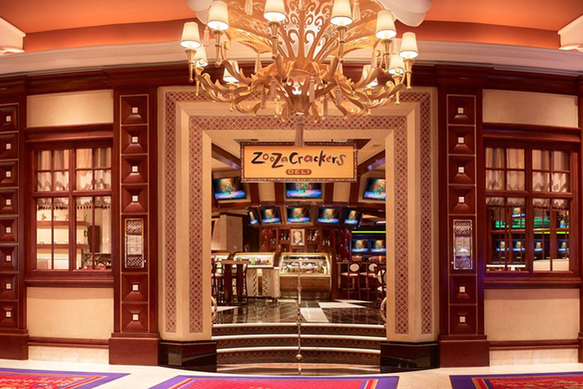 Zoozacrackers Deli Out Parasol Down Back In At Wynn Eater Vegas