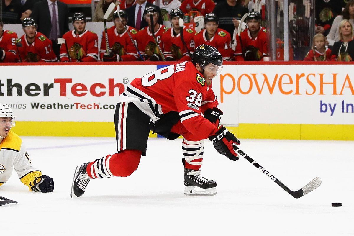 ryan hartman trade: blackhawks send forward to predators in deadline